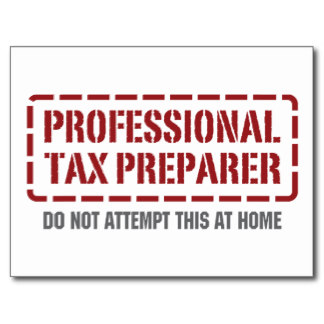Professional tax preparer